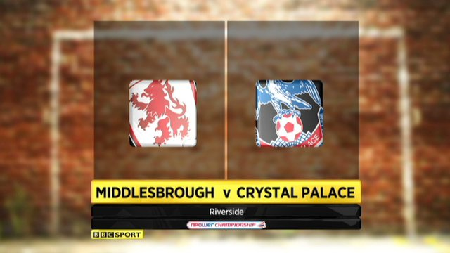 Highlights - Middlesbrough 0-0 Crystal Palace