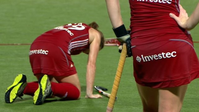 Great Britain lose Chapions Trophy final