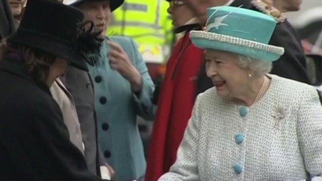 The Queen in King's Lynn