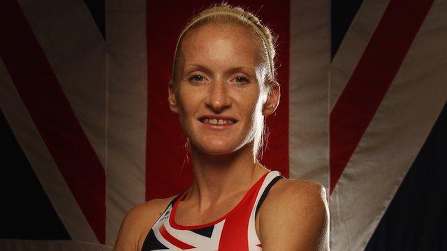 Team GB runner Barbara Parker