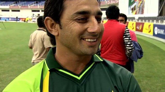 Pakistan's Saeed Ajmal