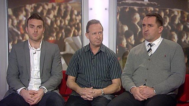 Lee Camp, John McGovern & Martin Allen