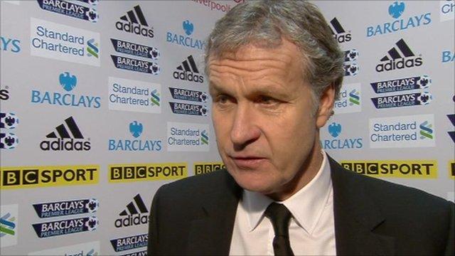 Spurs assistant manager Kevin Bond