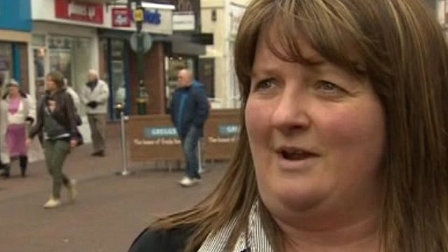 Lisa Williams, who has a shop in Gosport