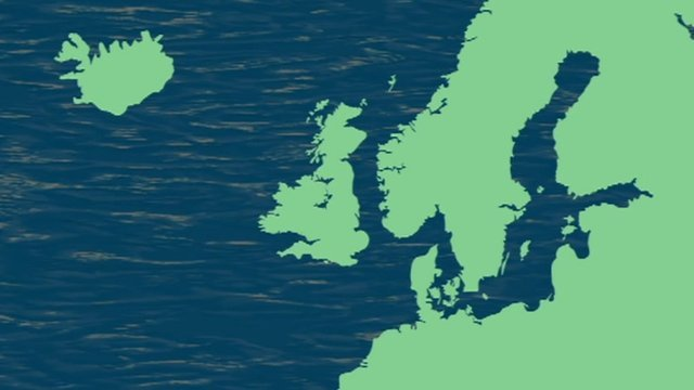 UK moved on Nordic map