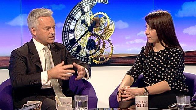 Alan Duncan and Liz Kendall
