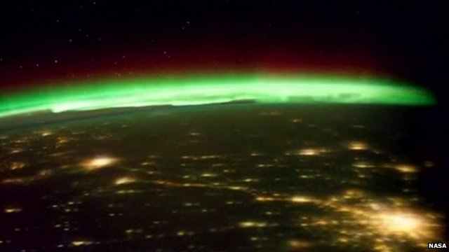 New images of the Northern lights