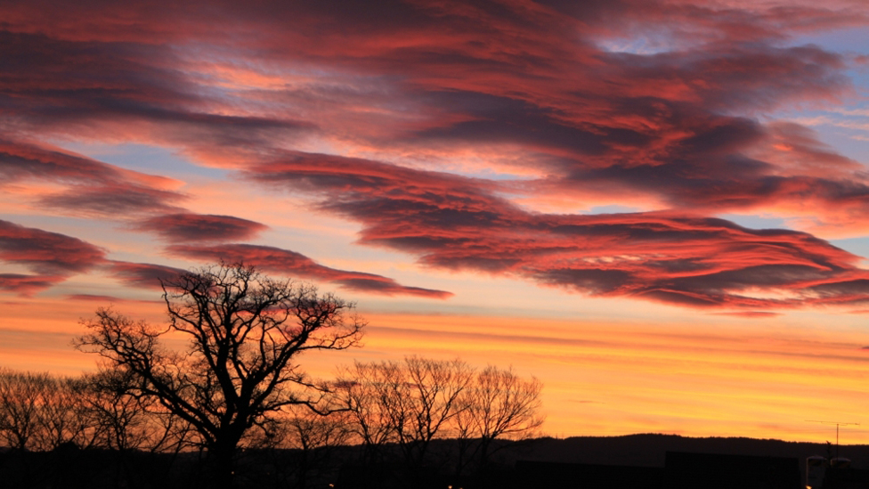 Sunrise over Inverness