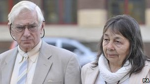 Peter and Hazelmary Bull. Pic: PA