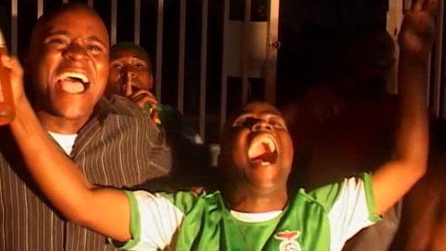Celebrations in Zambia