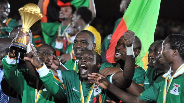Zambia win their first Africa Cup of Nations