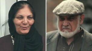 Tallat Ashar (left) and Ilyas Asha