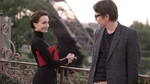 Ethan Hawke with Kristin Scott Thomas in The Woman in the Fifth