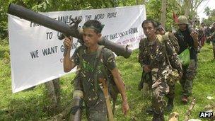 File photo: Moro National Liberation Front