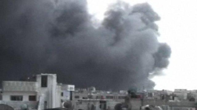 Blast in Syrian city Homs