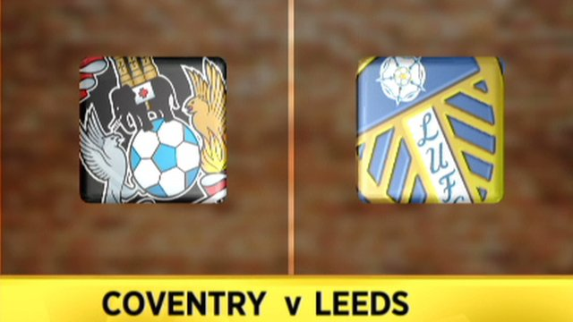 Highlights: Coventry 2-1 Leeds