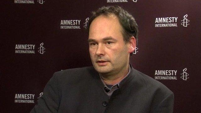 Carsten Jugersen, Amnesty International