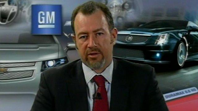 General Motors' chief financial officer, Daniel Ammann