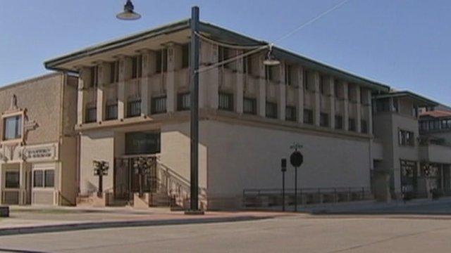 Frank Lloyd Wright designed hotel