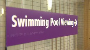 Valley swimming pool