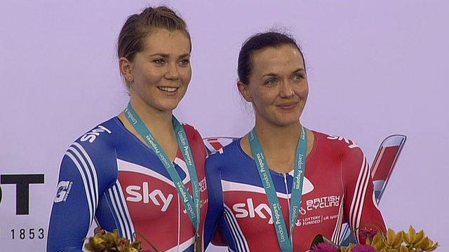 Victoria Pendleton and Jess Varnish