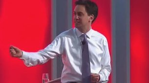 Ed Miliband yng Nghynhadledd Llafur Cymru