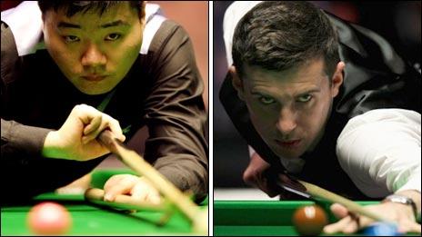 Ding Junhui a Mark Selby