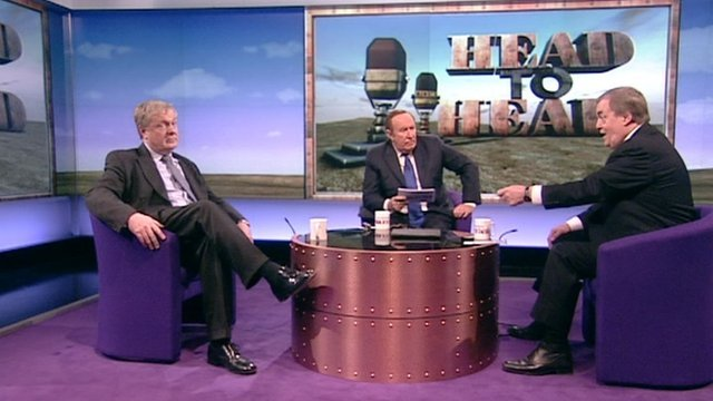 Sir Ian Blair, Andrew Neil and Lord Prescott