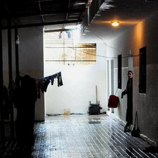 Syrian refugee shelter in Lebanon