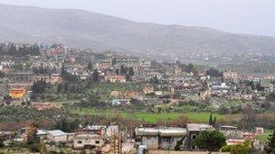 Lebanon/Syria border