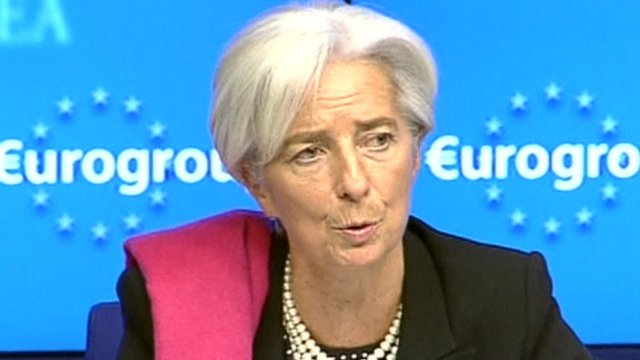Head of the International Monetary Fund Christine Lagarde