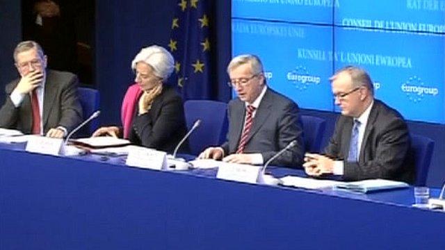 EU ministers agree Greek bailout