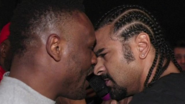 Dereck Chisora and David Haye brawl 'a shame' - Booth
