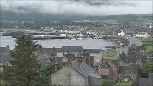 Ceann Loch Chille Chiarain