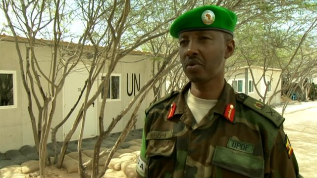 African Union commander in Somalia Fred Mogisha