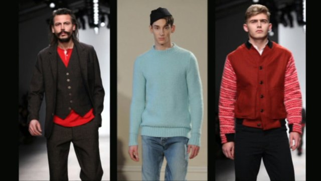 Men's fashion at London Fashion Week