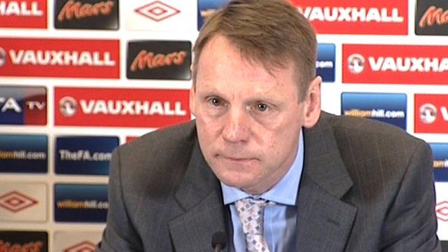 Stuart Pearce - England caretaker manager