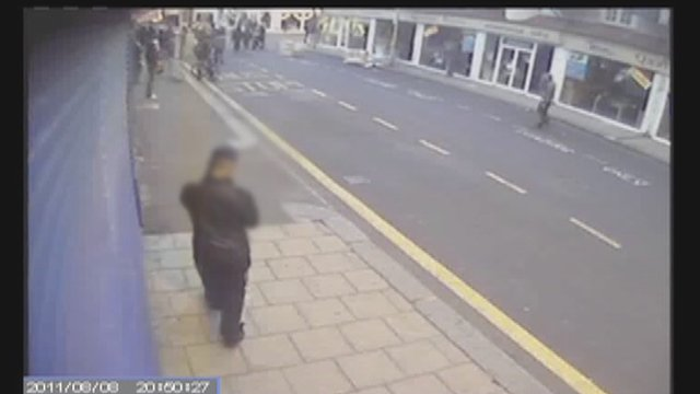 CCTV footage on the night of the riots in Croydon