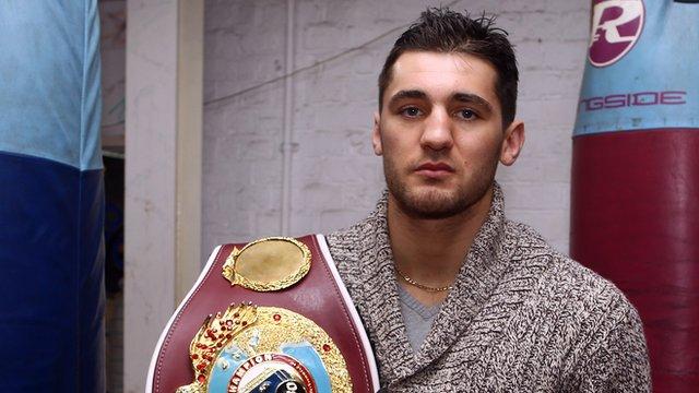 WBO world light-heavyweight champion Nathan Cleverly
