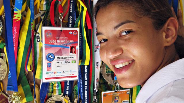 Sarah Menezes, Brazilian judo fighter