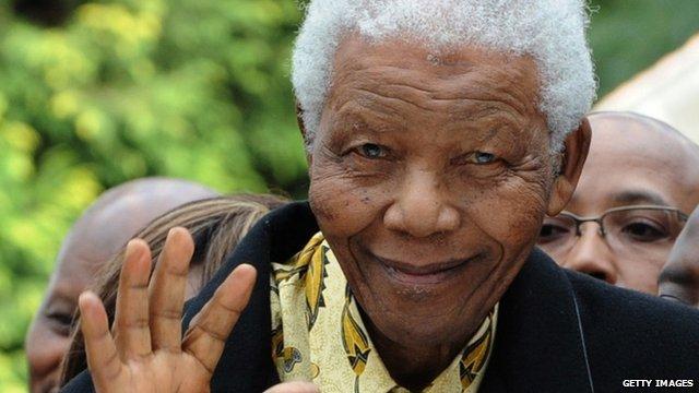Nelson Mandela - file photo