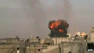 Shelling of Homs, 25 Feb 2012