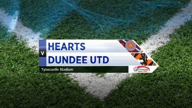 Highlights - Hearts 0-2 Dundee Utd