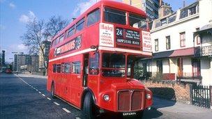 Original Routemaster bus