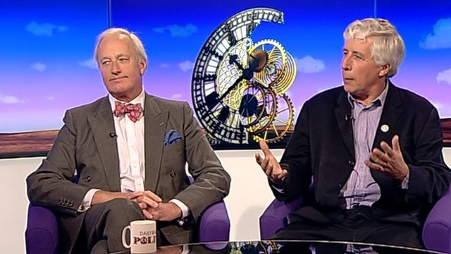 Neil Hamilton and Martin Salter