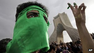 The Green Movement says more than 70 of its supporters have been killed