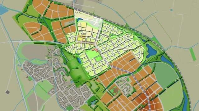 Plans for Northstowe