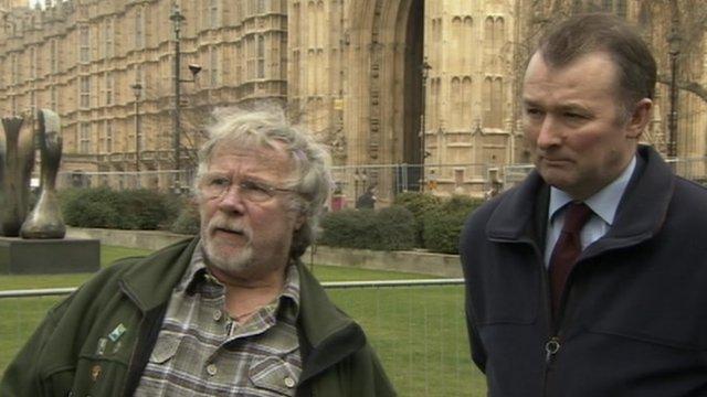 Bill Oddie and Simon Hart