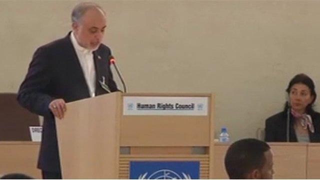 Ali Akbar Salehi, Iran's Foreign minister