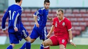 Cymru dan-21 yn herio Andorra